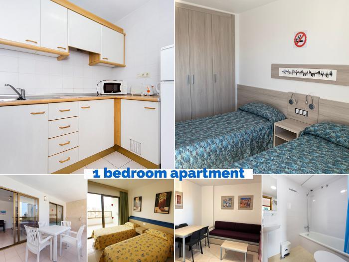 Apartamento -                                       Benidorm -                                       1 dormitorios -                                       1-4 persons ocupantes