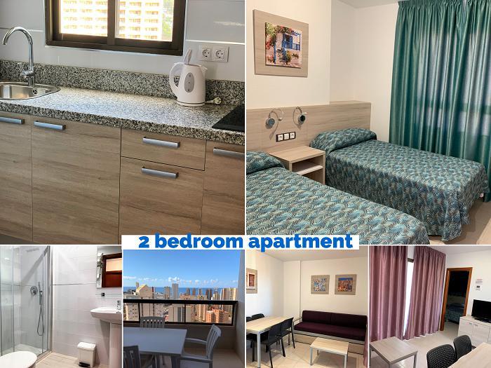 Apartamento -                                       Benidorm -                                       2 dormitorios -                                       2-4 person ocupantes