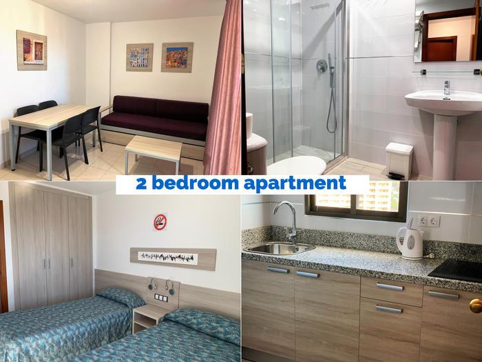 Apartamento -                                       Benidorm -                                       2 dormitorios -                                       2 personas  ocupantes