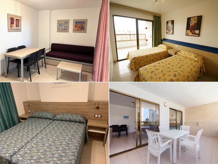 Apartamento -                                       Benidorm -                                       1 dormitorio -                                       2 persons ocupantes